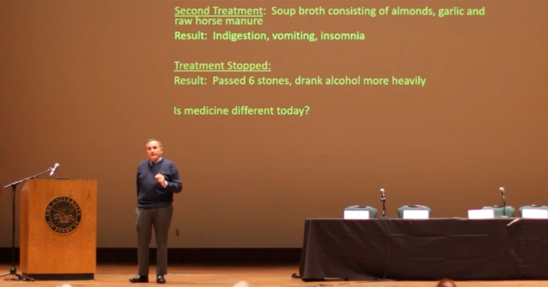 Mental Health & Drug Use Screening Tool - Dr. Ralph Tarter delivering a keynote presentation